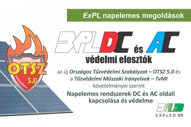 ExPL-DC és AC védelmi elosztók